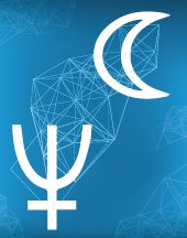 Луна, Нептун соединение в натальной карте