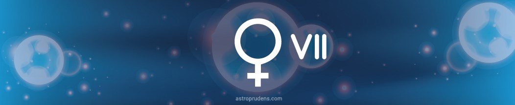Венера в 7 доме натальной карты