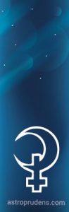 Неаспектированная Белая Луна, Селена (в шахте, без аспектов)