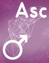 Марс - Асцендент (Асц) соединение аспект в синастрии