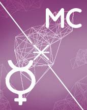 Меркурий - МС секстиль аспект в синастрии