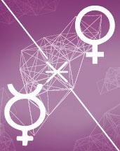 Меркурий - Венера секстиль аспект в синастрии