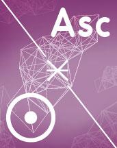 Секстиль Солнце - Асцендент (Asc) в синастрии
