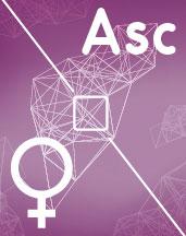 Венера - Асцендент (Асц) квадрат аспект в синастрии
