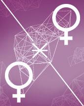 Венера - Венера секстиль аспект в синастрии