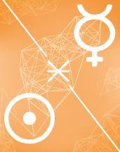 Меркурий - Солнце секстиль в транзитной карте (транзиты)