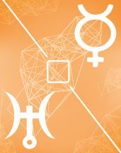 Меркурий - Уран квадрат в транзитной карте (транзиты)