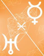 Меркурий - Уран секстиль в транзитной карте (транзиты)