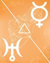 Меркурий - Уран трин в транзитной карте (транзиты)