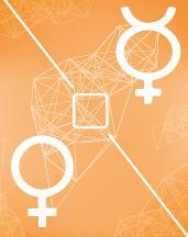Меркурий - Венера квадрат в транзитной карте (транзиты)