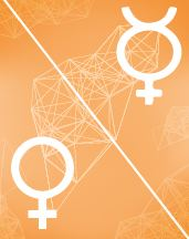 Меркурий - Венера оппозиция в транзитной карте (транзиты)