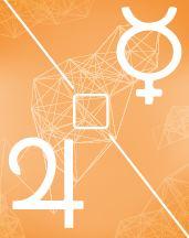 Меркурий - Юпитер квадрат в транзитной карте (транзиты)