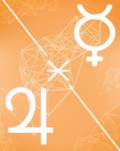 Меркурий - Юпитер секстиль в транзитной карте (транзиты)