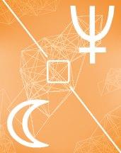Нептун - Луна квадрат в транзитной астрологии (транзиты)