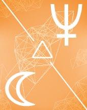 Нептун - Луна трин в транзитной астрологии (транзиты)