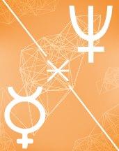 Нептун - Меркурий секстиль в транзитной астрологии (транзиты)