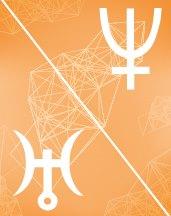 Нептун - Уран оппозиция в транзитной астрологии (транзиты)