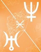 Нептун - Уран секстиль в транзитной астрологии (транзиты)