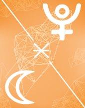 Плутон - Луна секстиль в транзитной астрологии (транзиты)