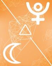 Плутон - Луна трин в транзитной астрологии (транзиты)