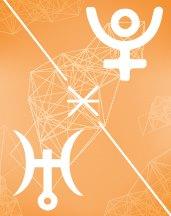 Плутон - Уран секстиль в транзитной астрологии (транзиты)