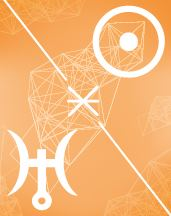 Солнце - Уран секстиль в транзитной карте (транзиты)