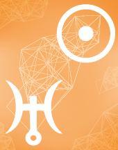 Солнце - Уран соединение в транзитной карте (транзиты)