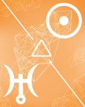 Солнце - Уран трин в транзитной карте (транзиты)