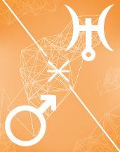Уран - Марс секстиль в транзитной астрологии (транзиты)