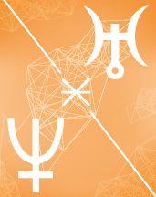 Уран - Нептун секстиль в транзитной астрологии (транзиты)
