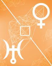Венера - Уран квадрат в транзитной карте (транзиты)