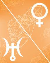 Венера - Уран оппозиция в транзитной карте (транзиты)