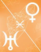 Венера - Уран секстиль в транзитной карте (транзиты)