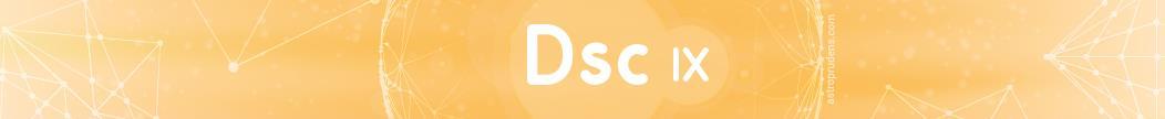 Десцендент (куспид 7 дома) соляра в 9 доме радикса