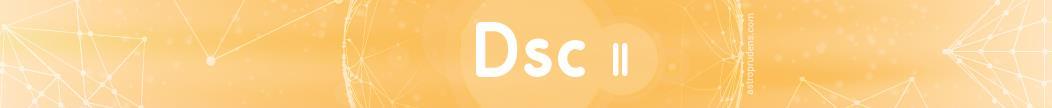 Десцендент (куспид 7 дома) соляра во 2 доме радикса