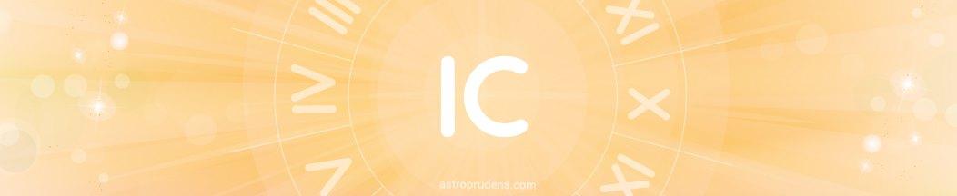 IC (исцендент, куспид 4 дома) соляра в домах радикса