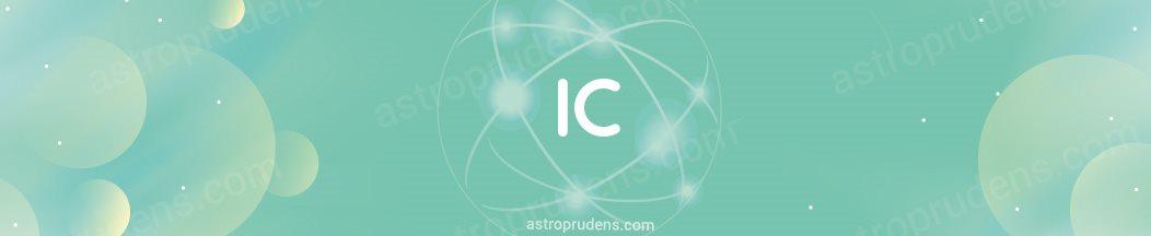 Планеты в соединении с Надиром, IC в прогрессиях