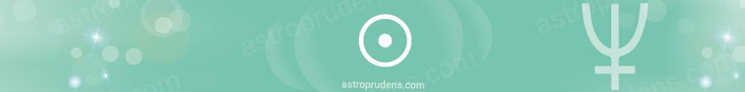 Прогрессивнон Солнце в аспекте с Нептуном