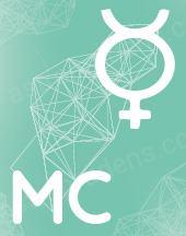 Прогрессивный MC в соединении с натальным Меркурием