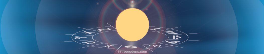 Солнце в натальной карте, гороскопе рождения, радиксе