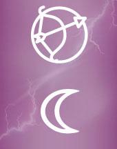 Луна в Стрельце в гороскопе брака