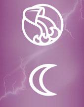Луна в Водолее в гороскопе брака