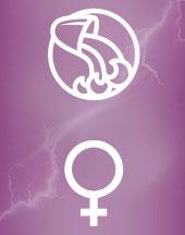 Венера в Водолее в гороскопе брака
