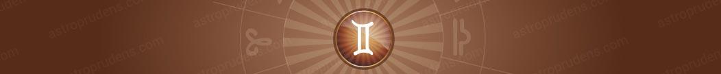 Сигнификатор предмета в Близнецах в хорарной карте